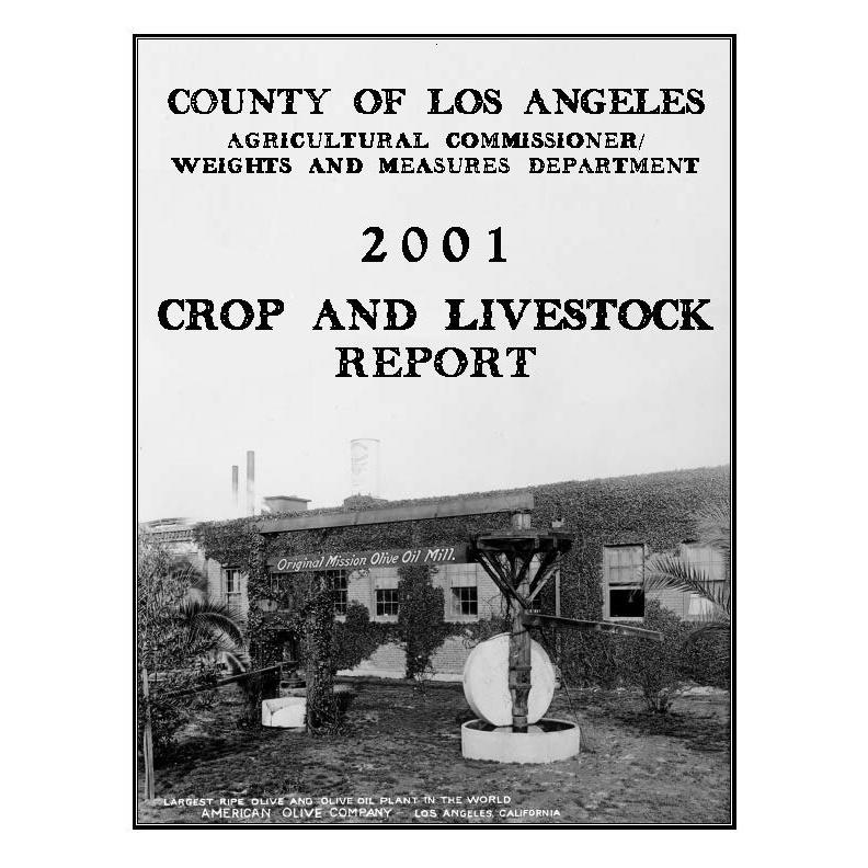 2001 Report Crop