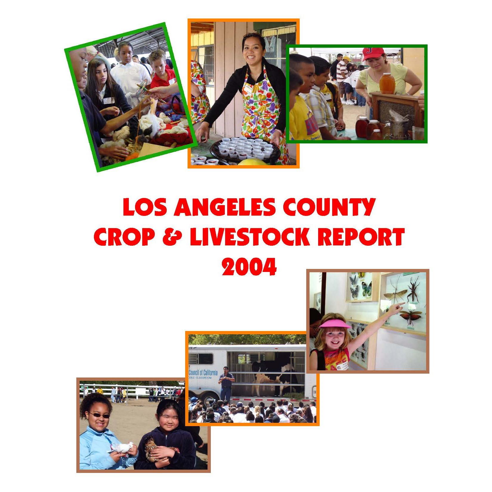 2004 Crop Report