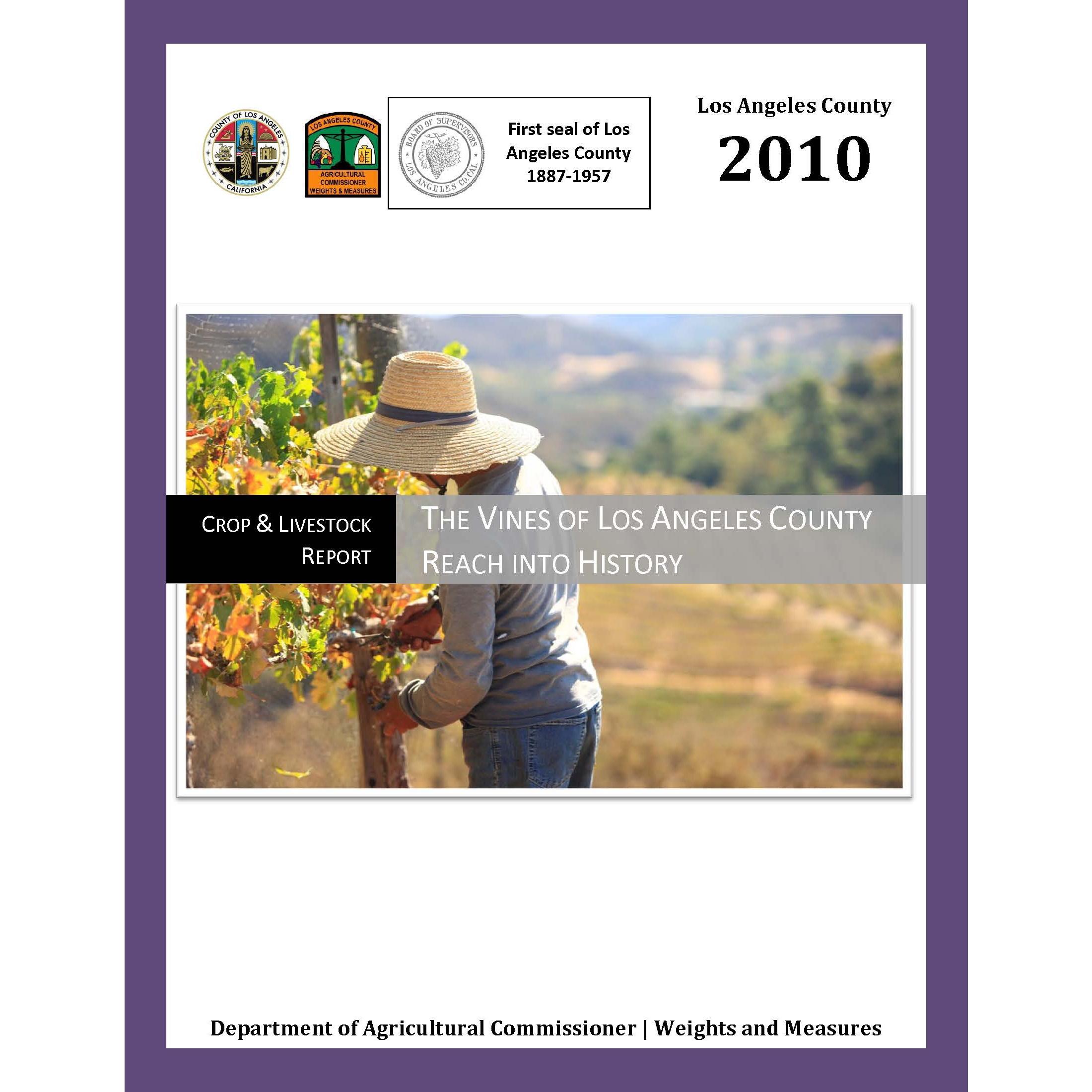 2010 Crop Report