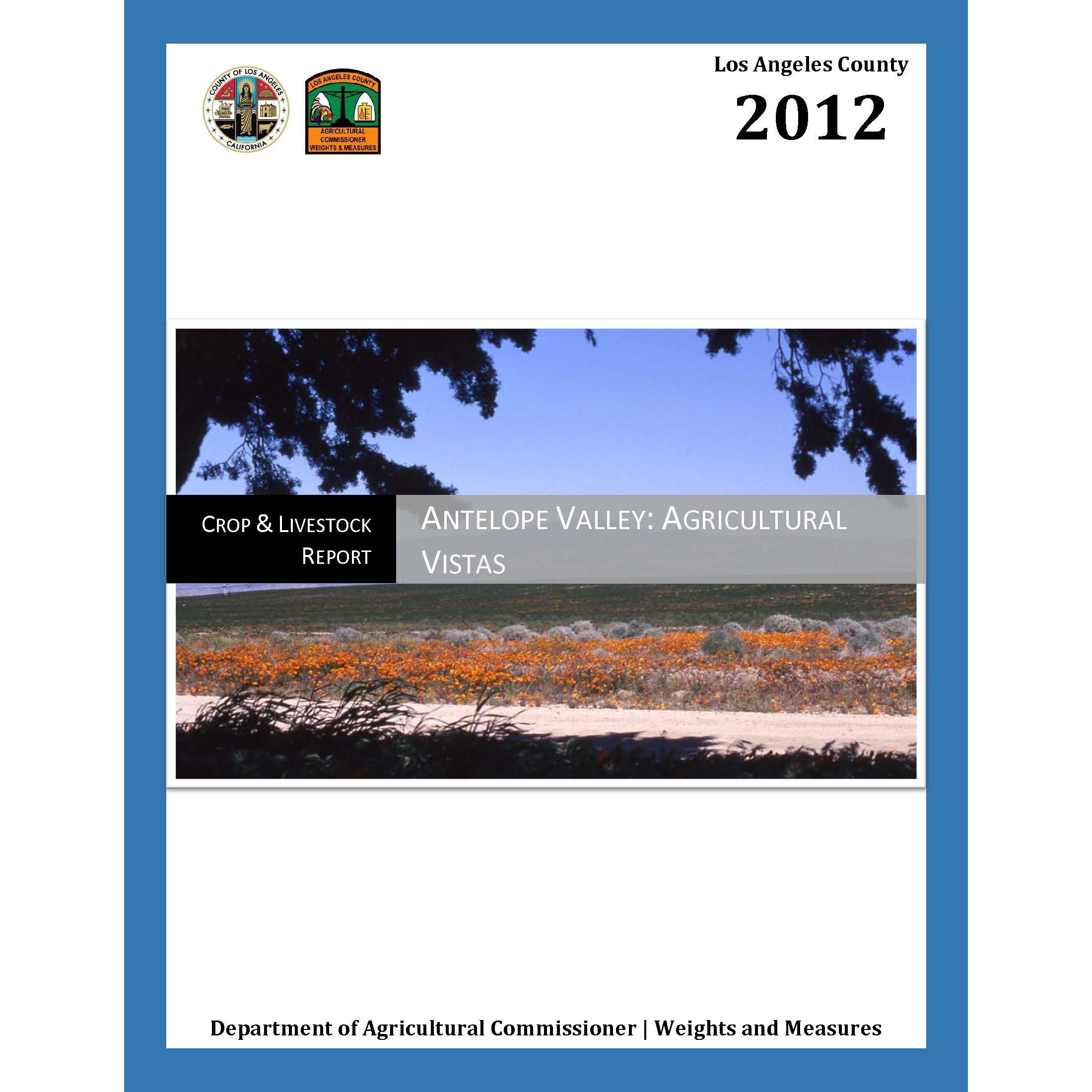 2012 Crop Report