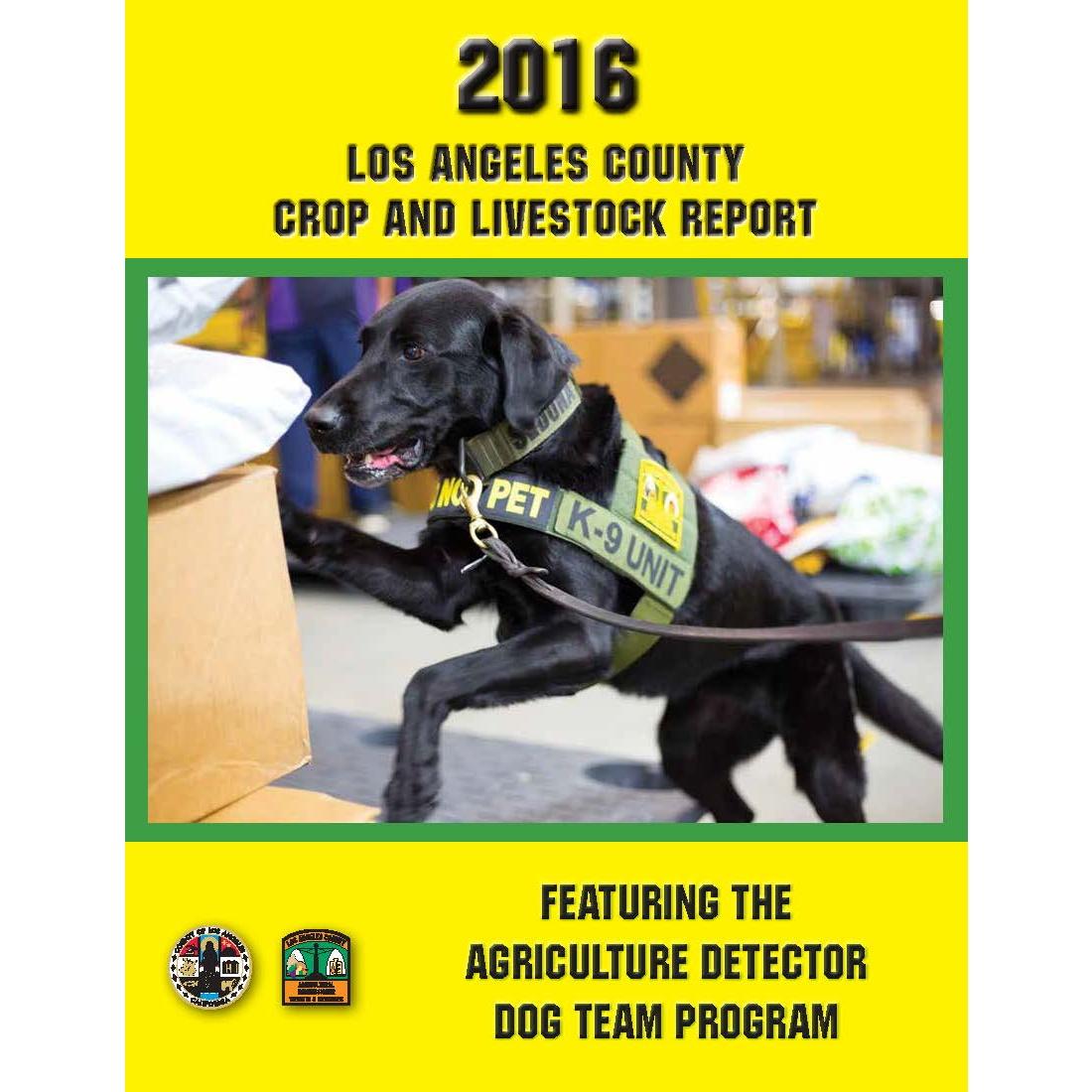 2016 Crop Report